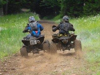 Racing ATVs