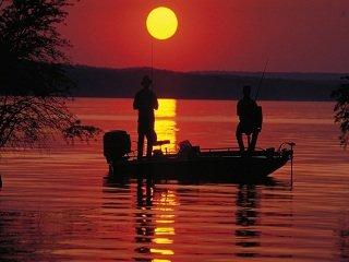 Bass Fishing in the Heat