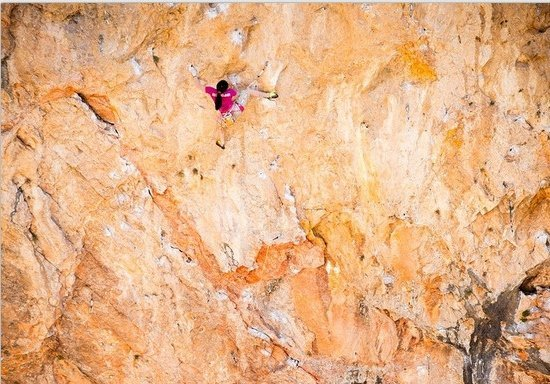 At 13, Girl Scales Notorious Rock Climbing Wall