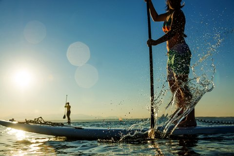 Stand-up Paddleboarding Growing Fast