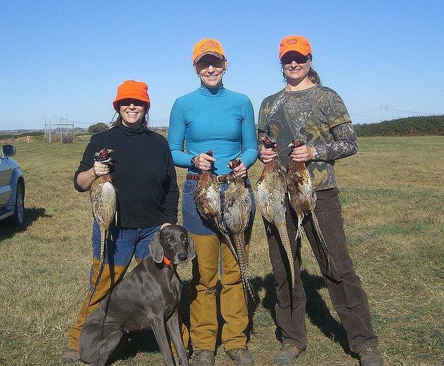 hunters-women