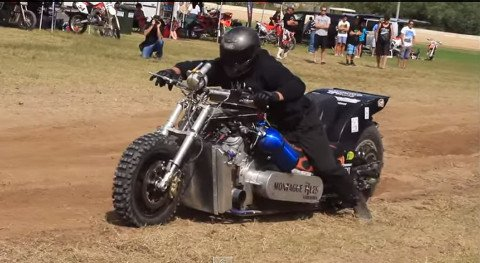 Nitro Powered Drag Bikes Are The Fastest Things on Dirt - LiveOutdoors