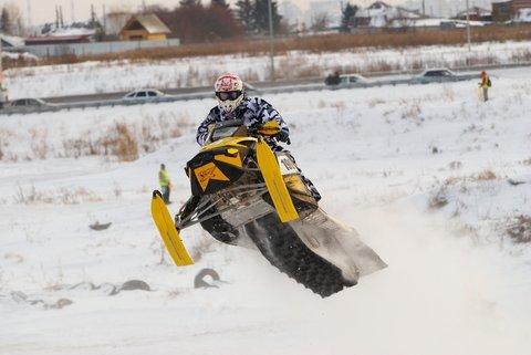 snowmachine jump
