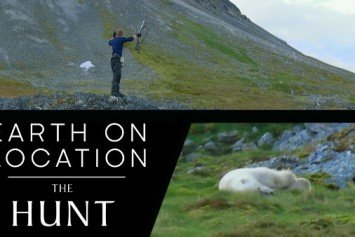 Polar Bear Raids BBC Film Crew Cabin