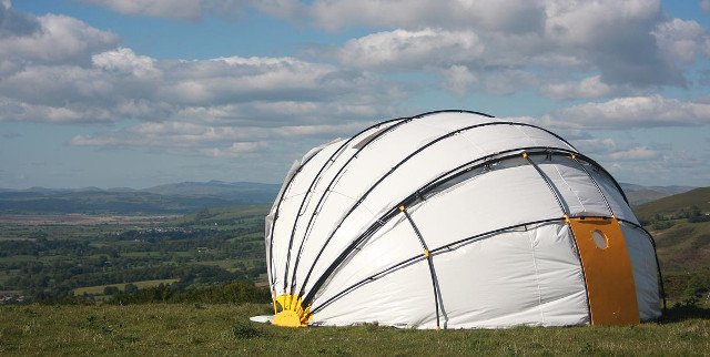New Mollusc Tent Could Change the Game of Camping