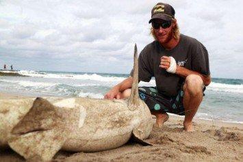 Fisherman Exacts Revenge on Shark That Bit Him