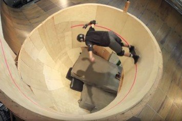 Tony Hawk Defies Gravity in First Horizontal Skateboard Loop