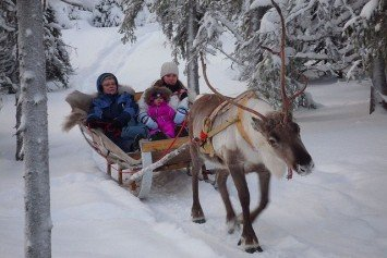 North of the Arctic Circle in Luosto Finland Is More Than Just Snow