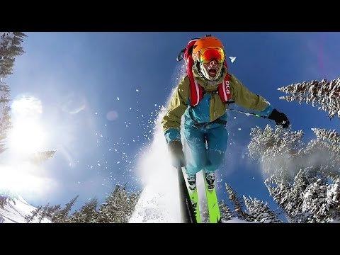 skier-gopro
