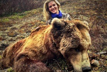 Former Beauty Queen Cited for Illegal Bear Kill