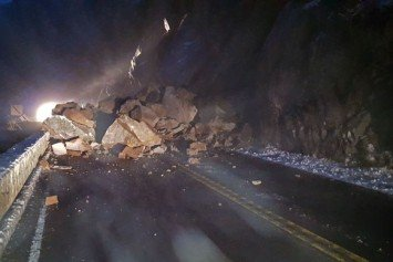 Rockslide Closes Yosemite Entrance Road