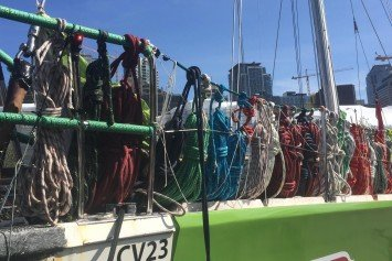 Clipper Round the World Refits in Seattle after Brutal Pacific Crossing