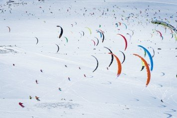 Red Bull Ragnarok Snowkite Event Draws 350
