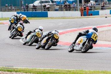 British Motorcycle Club Racing Set At Donington Park