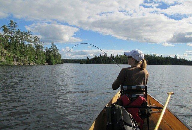 lake trout fishing