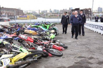 Bulldozed! NYC Crushes Seized Dirt Bikes and ATVs