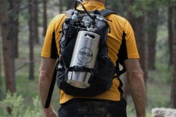 ManCan Brings Personal Keg to the Backcountry