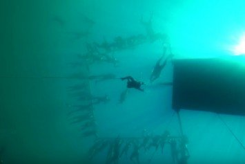 Kiwi Free Diver Breaks World Record... Again