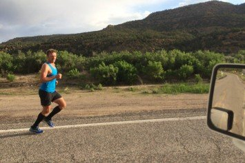 Is This British Ultrarunner Actually Running Across America?