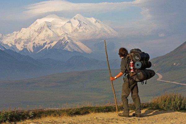 denali hiker