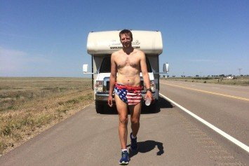 Run Across America Attempt Ends Due to Injury Amid Continued Controversy