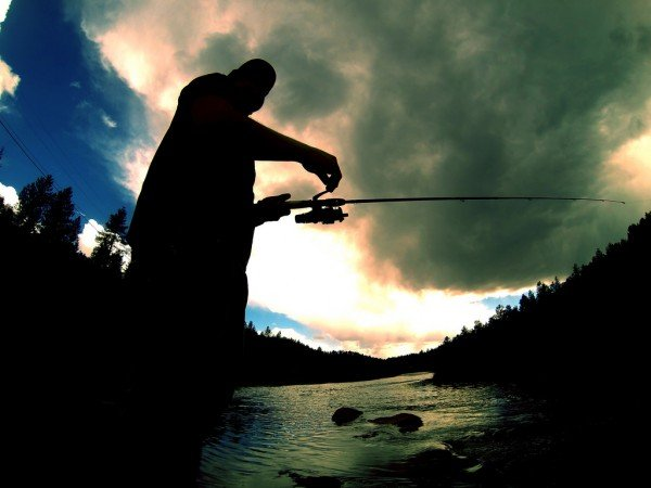 how to properly set up a fishing pole