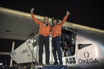 Solar Impulse 2 Completes Round the World Flight on Zero Fuel