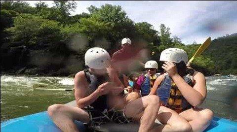rafting proposal