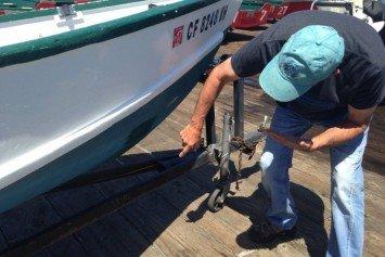 Massive Great White Shark Attacks Fishing Boat