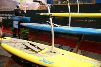Hobie Debuts First Hands-Free SUP like Elliptical Machine