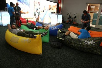 Air Sofa is Hottest New Item at Outdoor Retailer