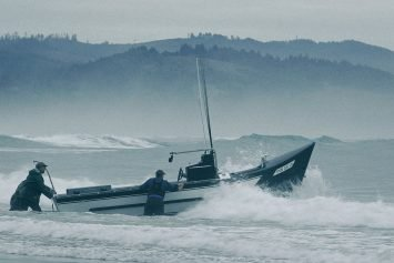 Crashing the Surf in a Pacific City Dory