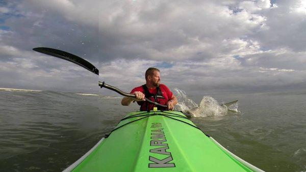 kayaksurfing