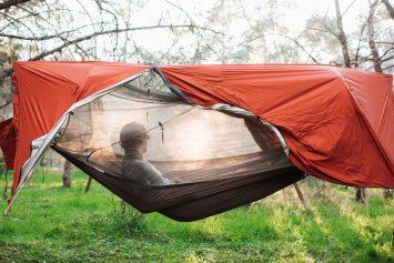 Sunda All-in-One Tent Hammock Lands Big on Kickstarter