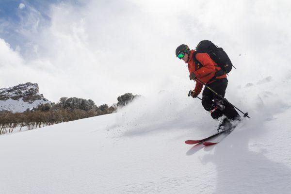 skiing backcountry