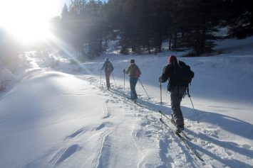 4 Places to Snowshoe Vermont