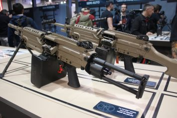 FN America Introduces Civilian M249 PARA at SHOT Show 2017