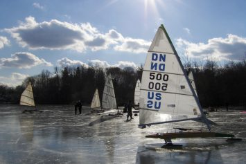 It's the Ice Sailing World Championships