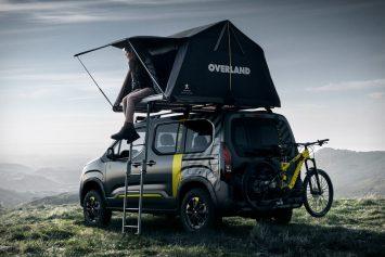 Peugeot Unveils Automobile + Tent Combo