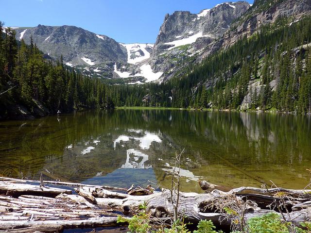 Odessa Lake in Rocky Mountain National Park, Colorado